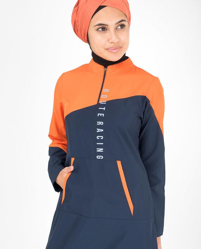 A Pop Of Colour Jilbab