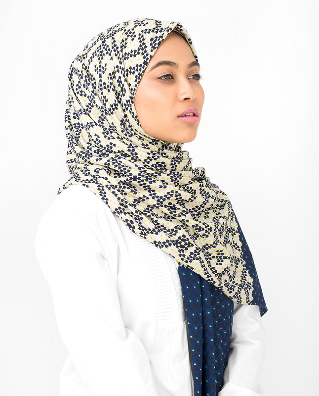 2 In 1 Viscose Jersey Hijab