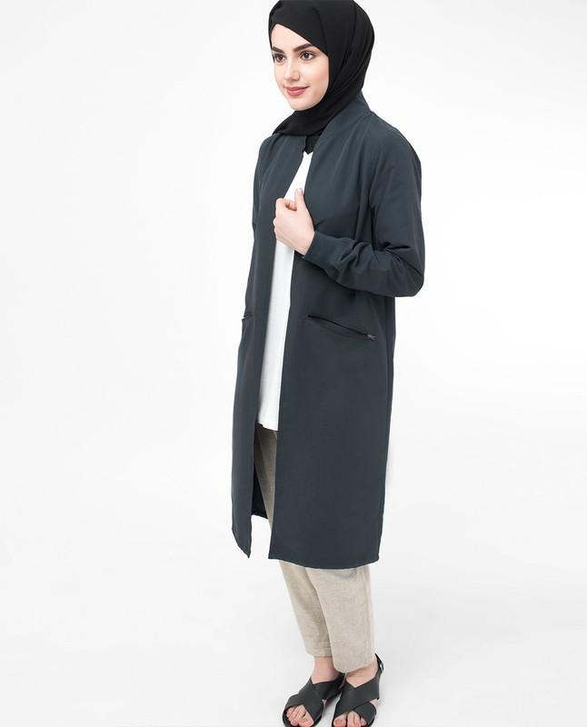 Modest Light Outerwear Jacket