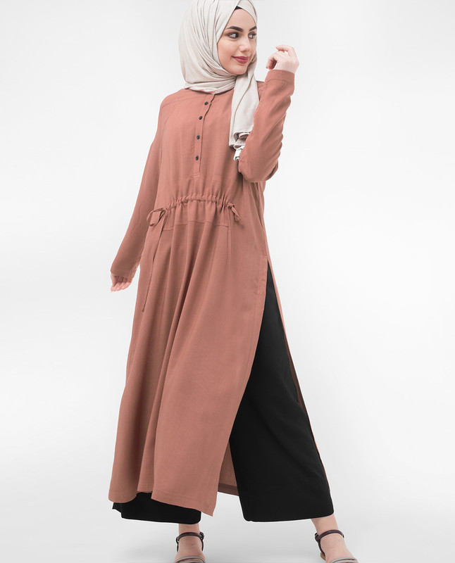 Long Line Modest Dress
