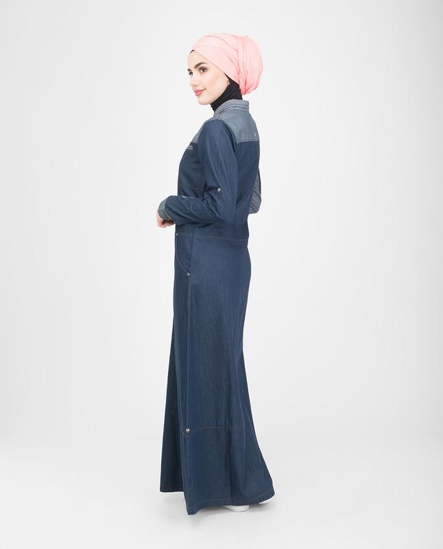 breastfeeding denim jilbab abaya