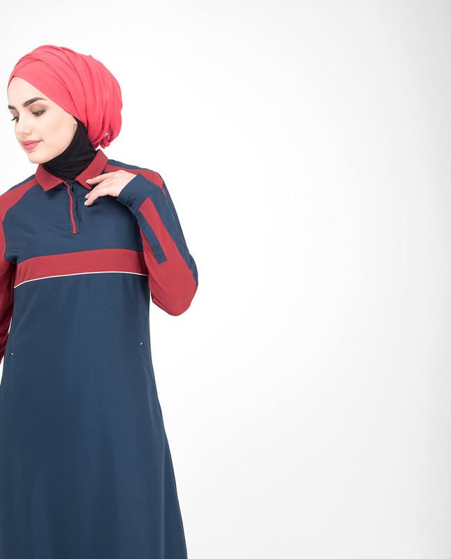 Cotton jilbab abaya