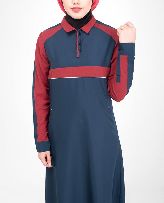 Regular fit jilbab abaya