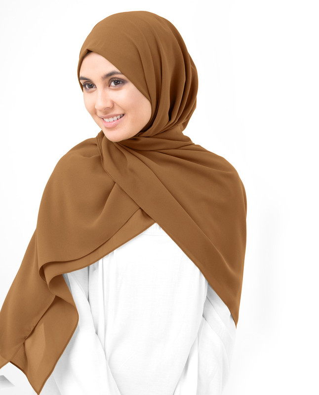 Cathay Spice Poly Georgette Scarf