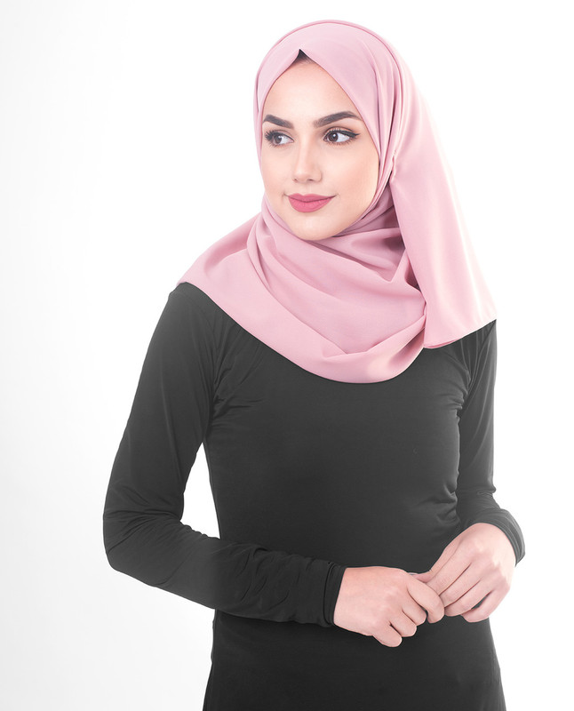 light purple hijab scarf
