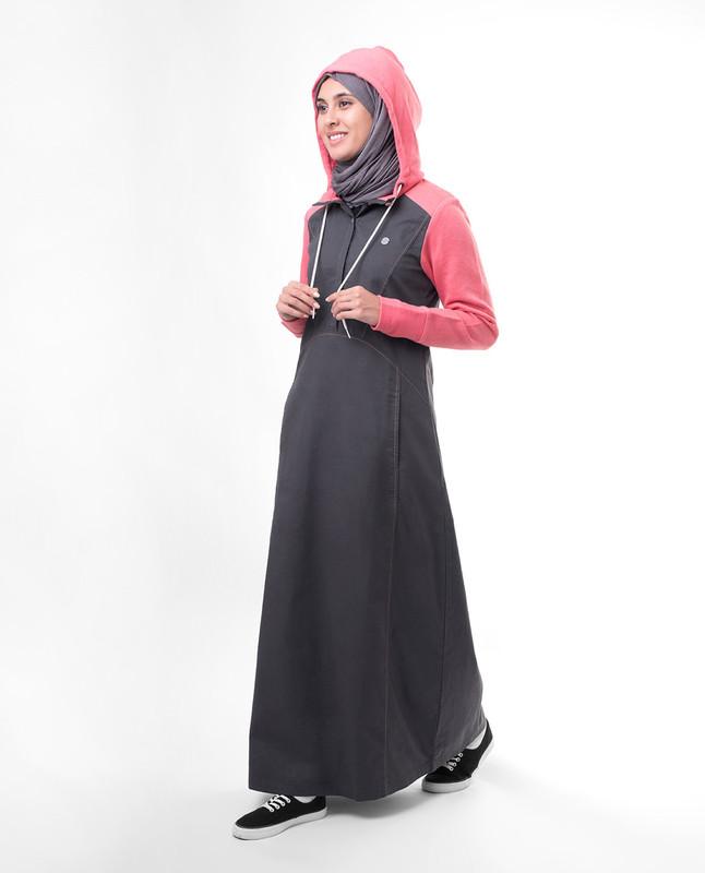 Hood stylist abaya jilbab