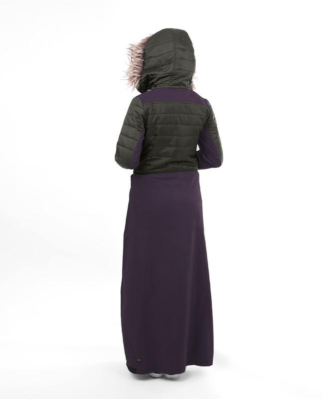 Breastfeeding winter stylist abaya jilbab