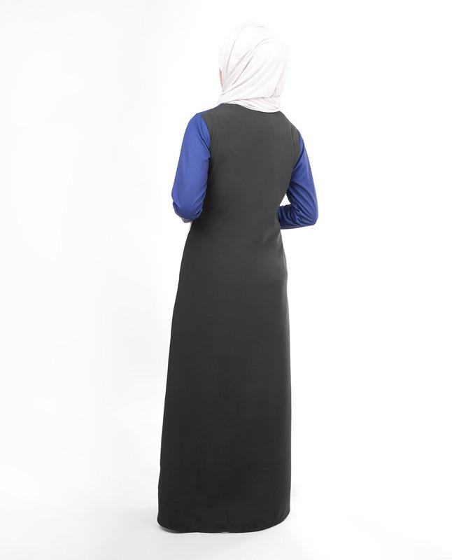 Sporty look abaya jilbab