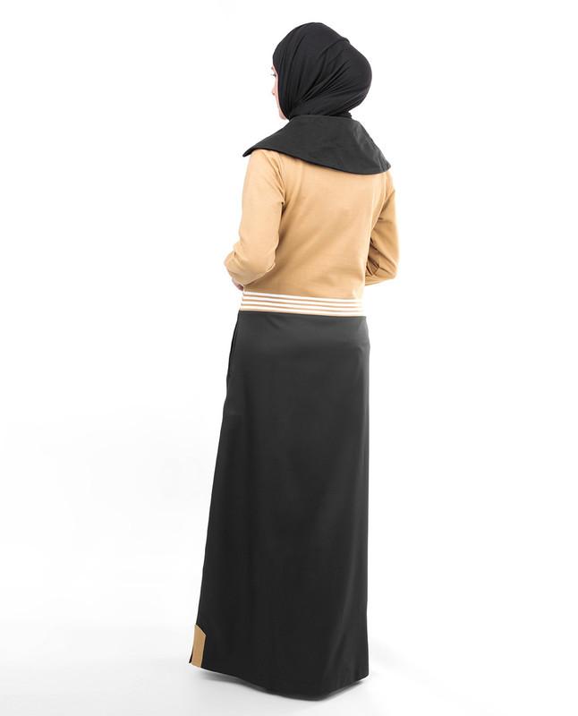 Cold season abaya jilbab
