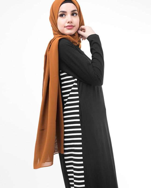 Printed abaya jilbab