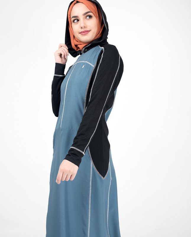 Buy Hoodie abaya jilbab