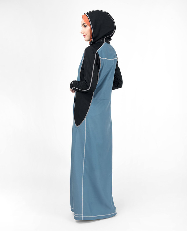 Blue abaya shop