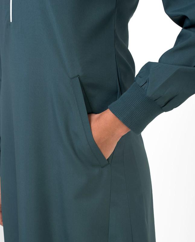 Buy front zipper abaya jilbab
