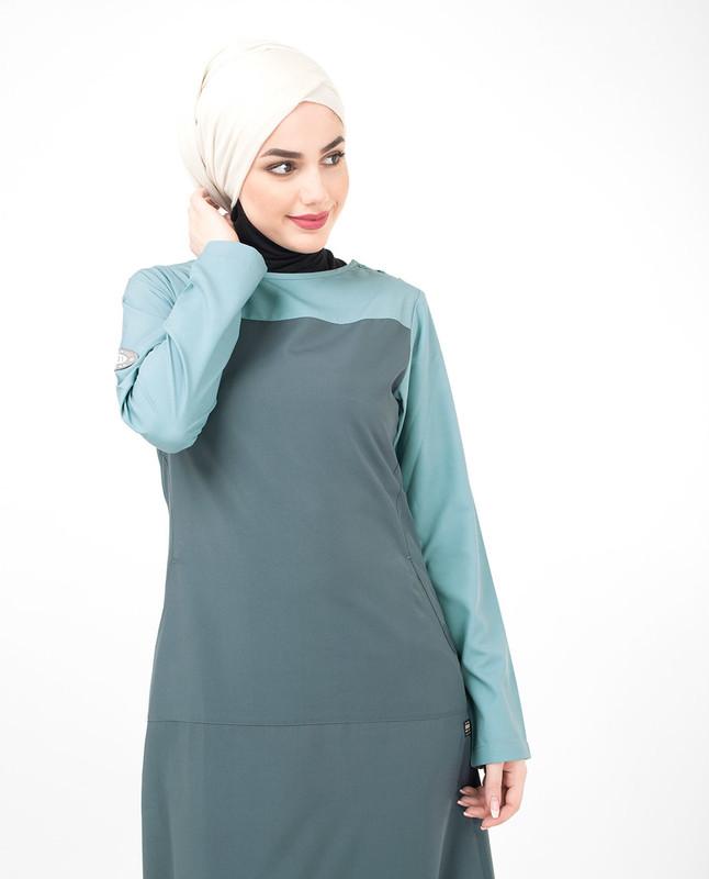 Cotton abaya jilbab