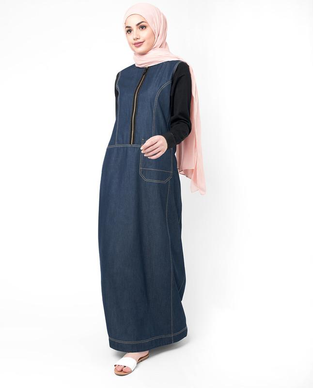 Buy denim abaya online