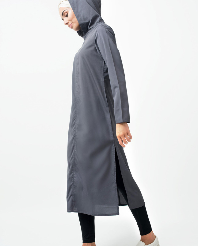 Long Slit Casual Midi Dress