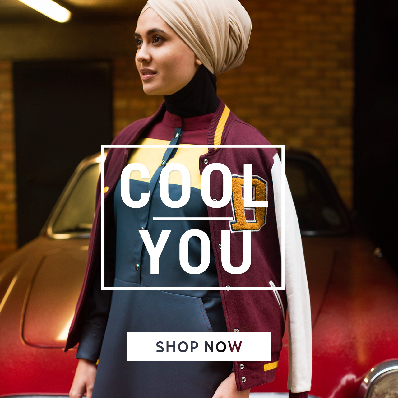 Cool Abaya jilbab