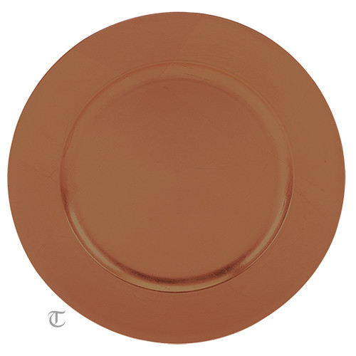 Copper Round Charger Plate Case of 12  sc 1 st  Tabletop Classics & Copper Round Charger Plate Case of 12 - Tabletop Classics