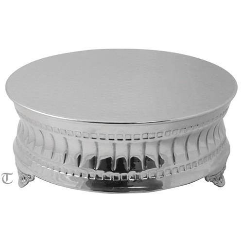"18""  Round Cake Stand, Contemporary"