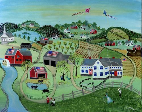 AMERICAN COUNTRYSIDE FARMS KITES