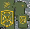 2nd Battalion 1st Marines Long Sleeve T- Shirt