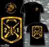 2nd Battalion 1st Marines T-shirt