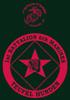 1st Battalion, 6th Marines T-shirt
