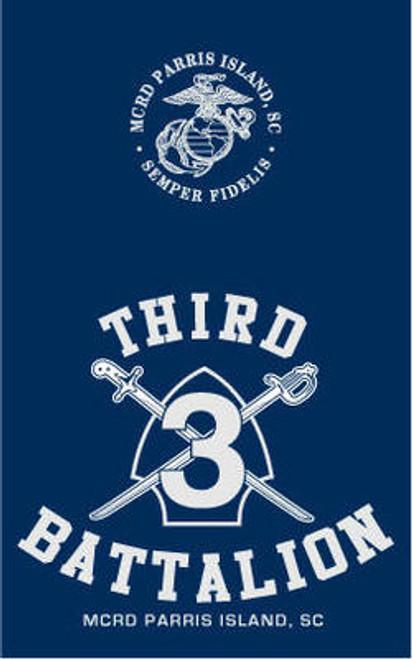 Parris Island 3rd Recruit Battalion Long Sleeve T- Shirt