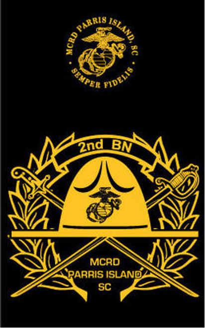 Parris Island 2nd Recruit Battalion Hood