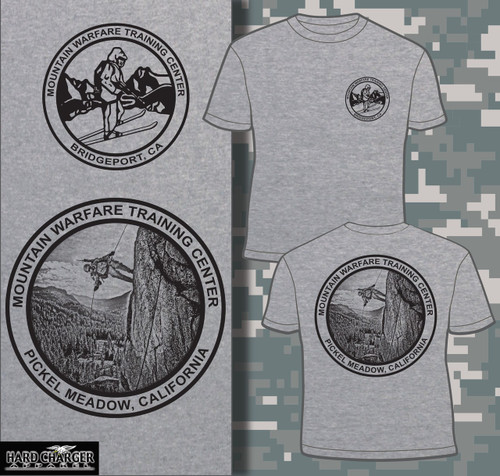 Mountain Warfare Training Center - Bridgeport, CA T-shirt