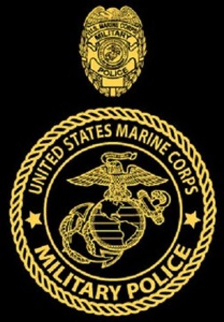 Marine Corps Military Police Hood