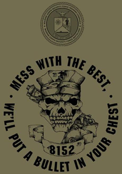 Marine Corps Security Force School Crewneck Sweatshirt