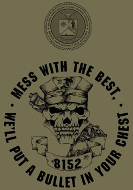 Marine Corps Security Force School USMC T-shirt