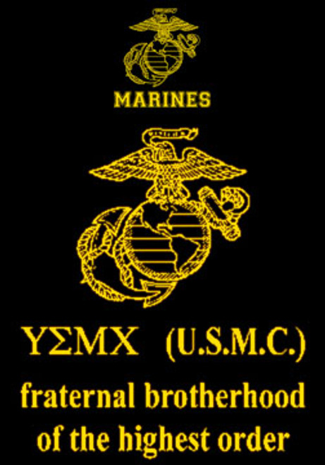 USMC Fraternal Brotherhood T-shirt - Hard Charger Apparel