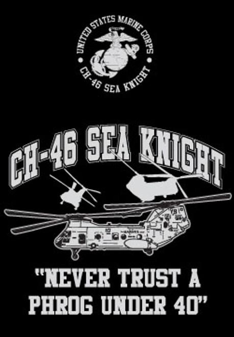 CH-46 Helo T-shirt