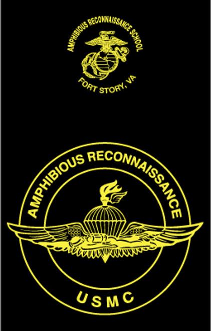 Amphibious Reconnaissance School Long Sleeve T- Shirt