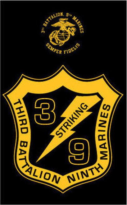 3rd Battalion, 9th Marines Long Sleeve T- Shirt