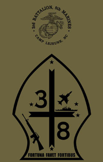 3rd Battalion, 8th Marines Long Sleeve T- Shirt