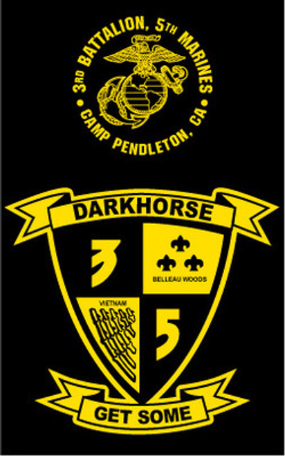 3rd Battalion, 5th Marines Long Sleeve T- Shirt