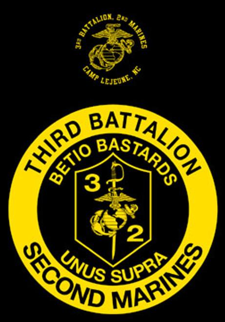 3rd Battalion, 2nd Marines Long Sleeve T- Shirt