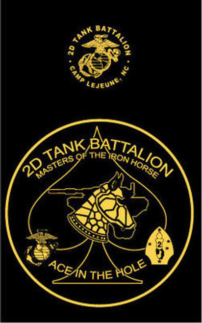 2nd Tank Battalion T-shirt