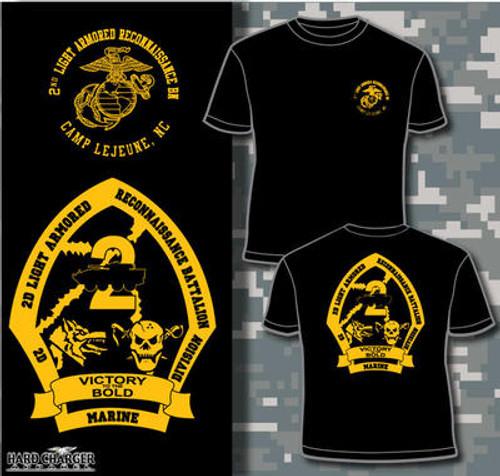 2nd Light Armored Reconnaissance Battalion Long Sleeve T- Shirt