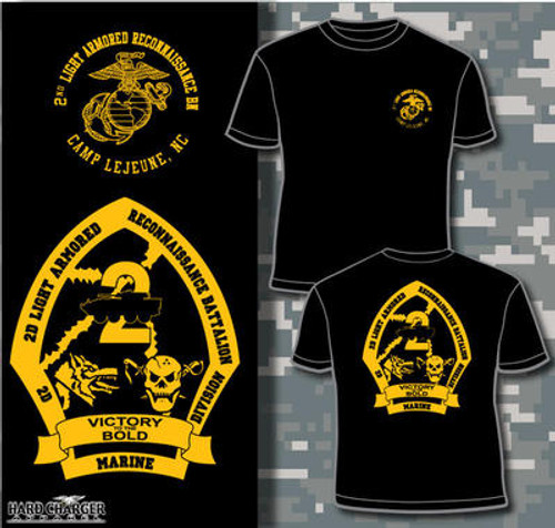 2nd Light Armored Reconnaissance Battalion T-shirt