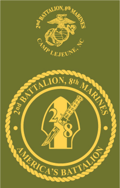 2nd Battalion, 8th Marines Crewneck Sweatshirt