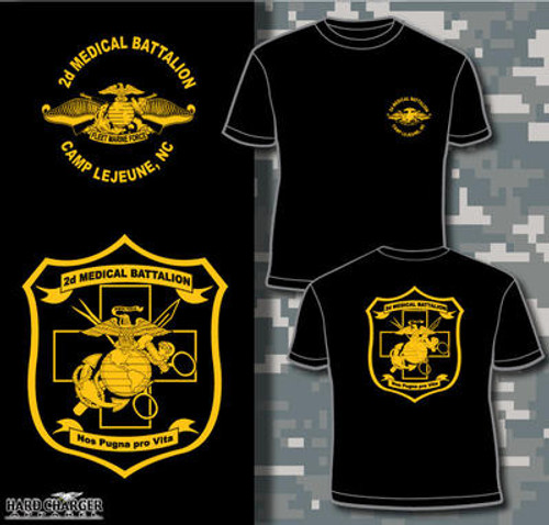 2D Medical Battalion Long Sleeve T-Shirt