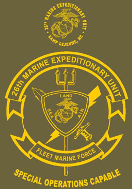 26th Marine Expeditionary Unit Long Sleeve T-Shirt
