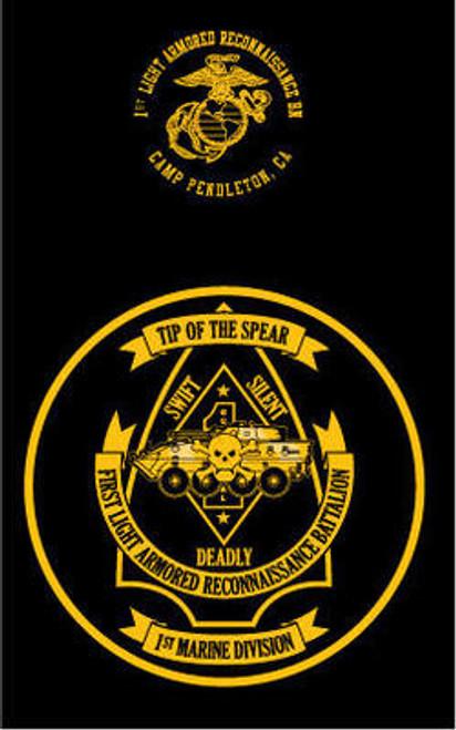 1st Light Armored Reconnaissance Battalion Hood