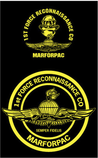 1st Force Recon Long Sleeve T-Shirt