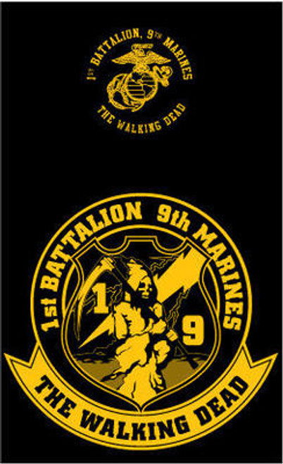 1st Battalion, 9th Marines Long Sleeve T-Shirt