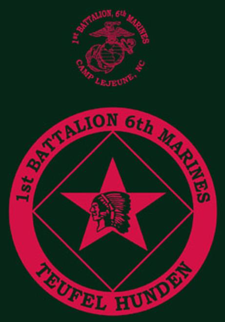 1st Battalion, 6th Marines Crewneck Sweatshirt